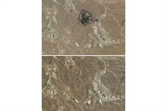 歐洲衛星打臉德黑蘭 照片分析:伊朗地下導彈工廠大爆炸