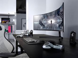 三星奧德賽Odyssey系列曲面電競螢幕登台