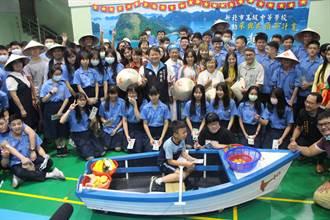 新竹林高中參與式預算 學生推越南文化
