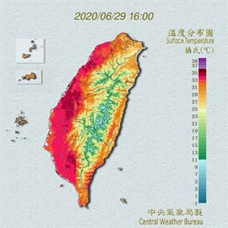 報復性高溫?台北破124年紀錄 午後飆出38.9度