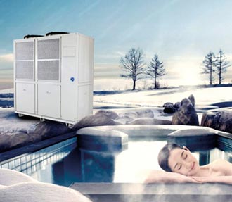 堡達CO2熱泵熱水機 節能首選