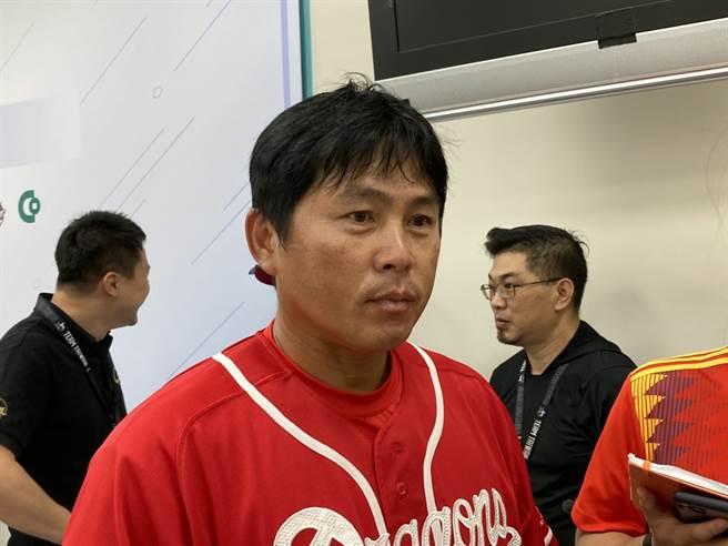 味全龍隊總教練葉君璋。(鄧心瑜攝)