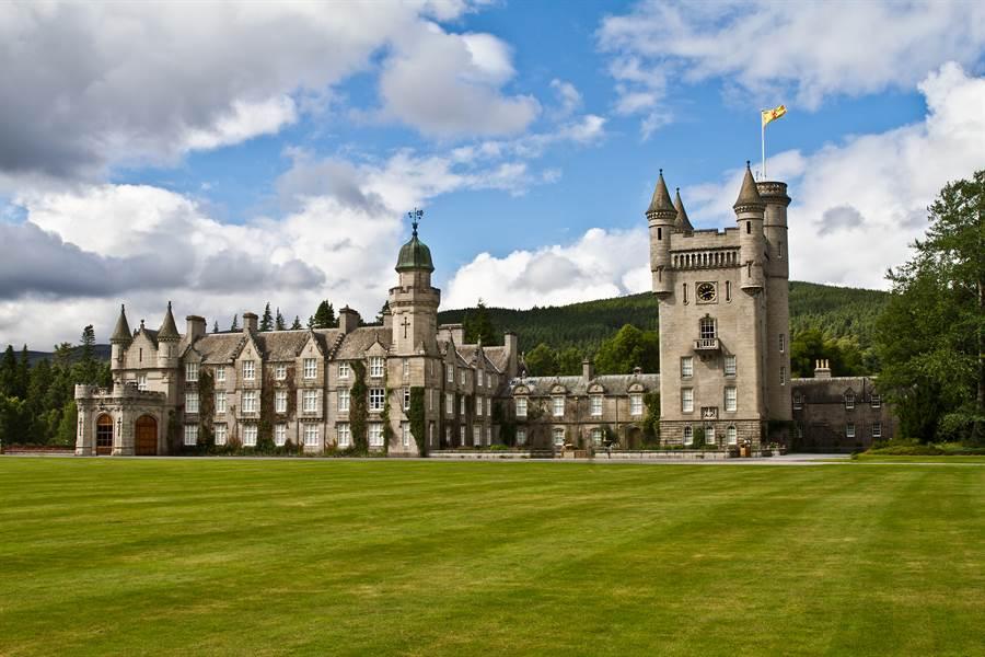 蘇格蘭巴摩拉城堡。(Shutterstock圖片)