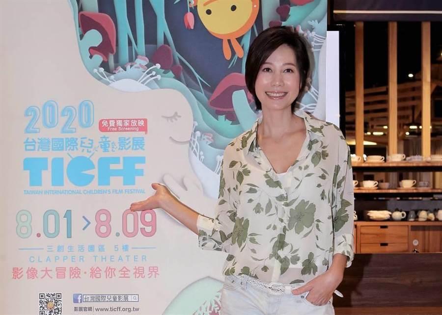 丁寧擔任台灣國際兒童影展推薦人。(公視提供)