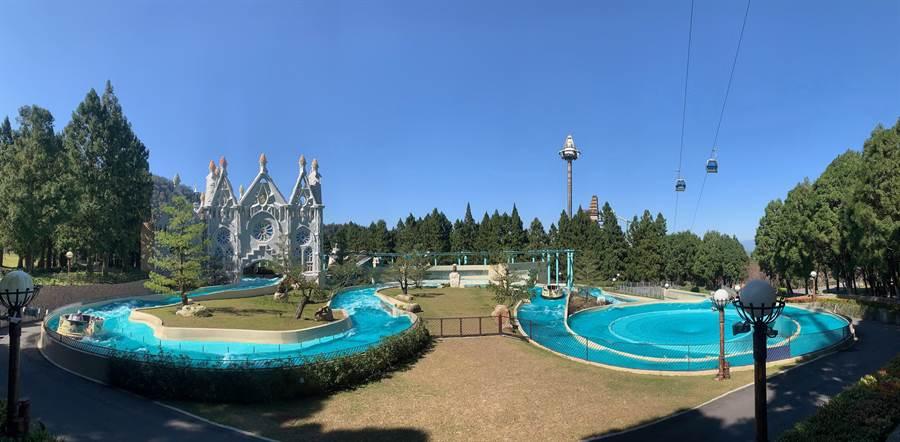 九族文化村迎暑假,加碼好康大放送。(廖志晃攝)