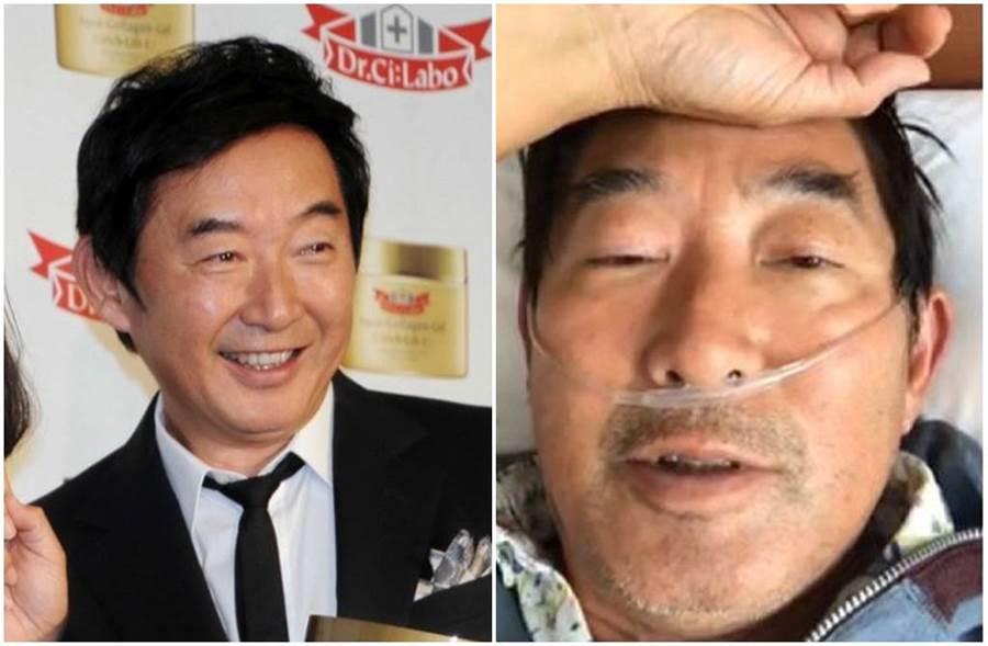 石田純一染新冠肺炎還飛沖繩,導致演藝工作全面停擺。(圖/東網)
