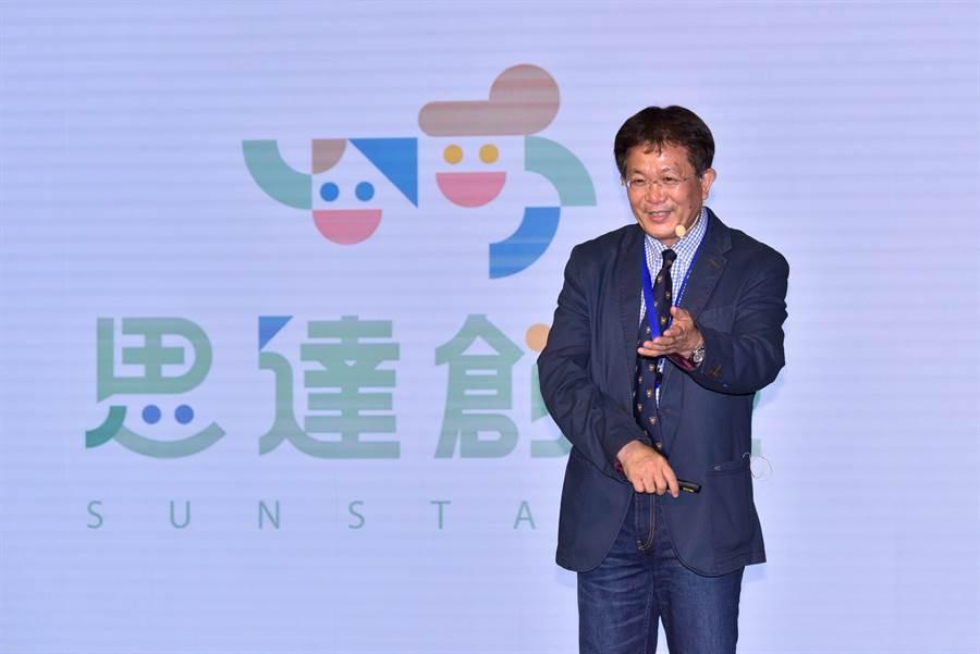 思達創旭董事長黃旭宏宣示台灣教育服務產業成果受到肯定,目前已有多個國家洽談引進。