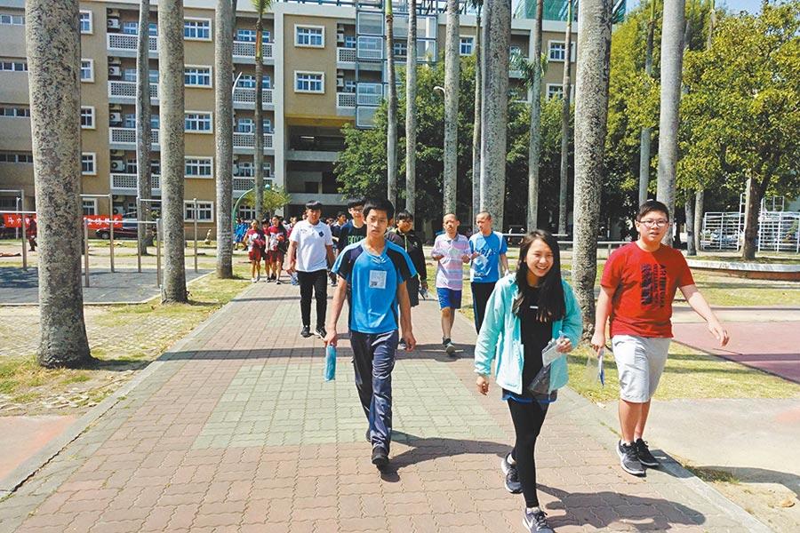 雲林縣學子歷年參與國中教育會考,成績得C的比率較全國比率都高,得A比例則遠不及全國。(本報資料照片)