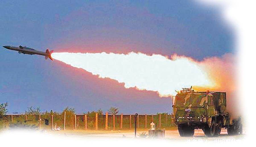 阿卡什(Akash)系統為印方自行研發的中程地對空飛彈。(取自今日頭條)