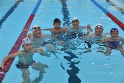 國訓中心組裝式泳池啟用 天氣、水溫是考驗