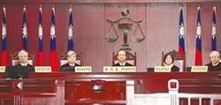 黨產條例釋憲案 聲請法官缺席