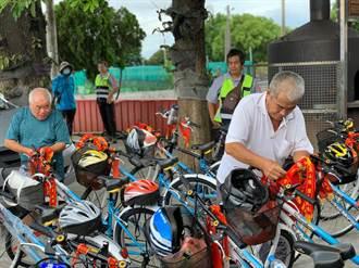 五間廟神明加持 全校畢業生騎「愛的腳踏車」升國中