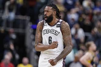 NBA》狄安卓喬丹確診 籃網兩大將同日落難