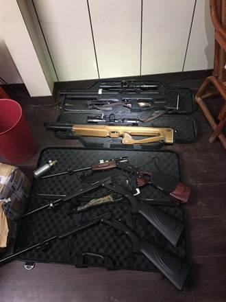 男子愛好狩獵改造槍彈 槍械藏工寮遭新北警查獲