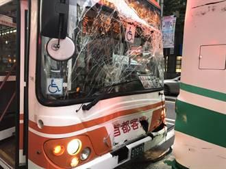 北市忠孝東路公車追撞  3人受傷其中2人送醫