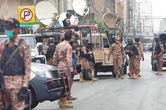 巴國證交所遇襲 警擊斃4槍手
