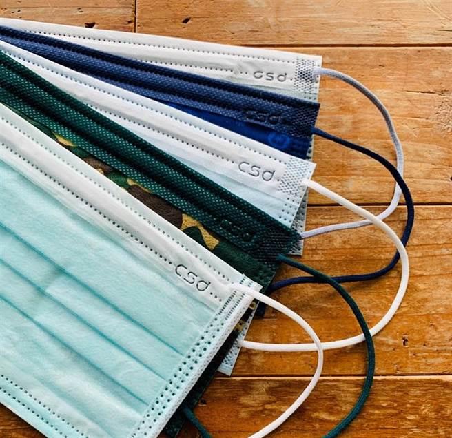 搶6色中衛口罩!PChome 24h、墊腳石今天開賣。(圖/摘自中衛臉書)