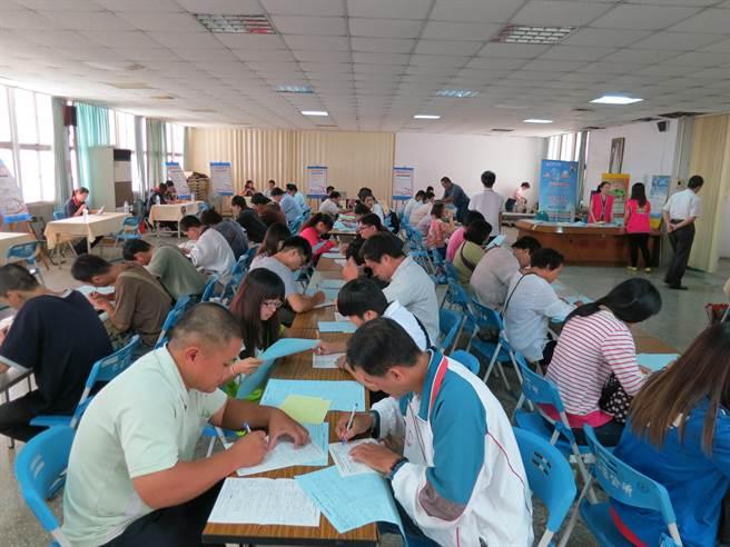 勞動部雲嘉南分署台南就業中心將於7月辦理5場徵才活動。(勞動部雲嘉南分署台南就業中心提供/李宜杰台南傳真)