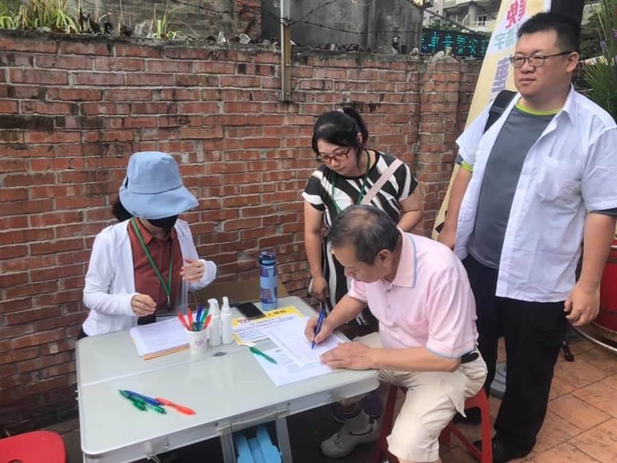 罷免王浩宇總部6月30日成立。(呂筱蟬攝)