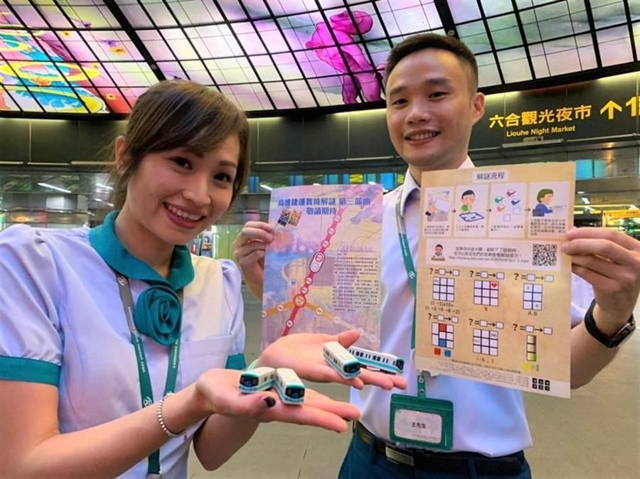 (高雄捷運推出購買24/48小時旅遊卡可享優惠折扣和抽獎。圖/高捷提供)