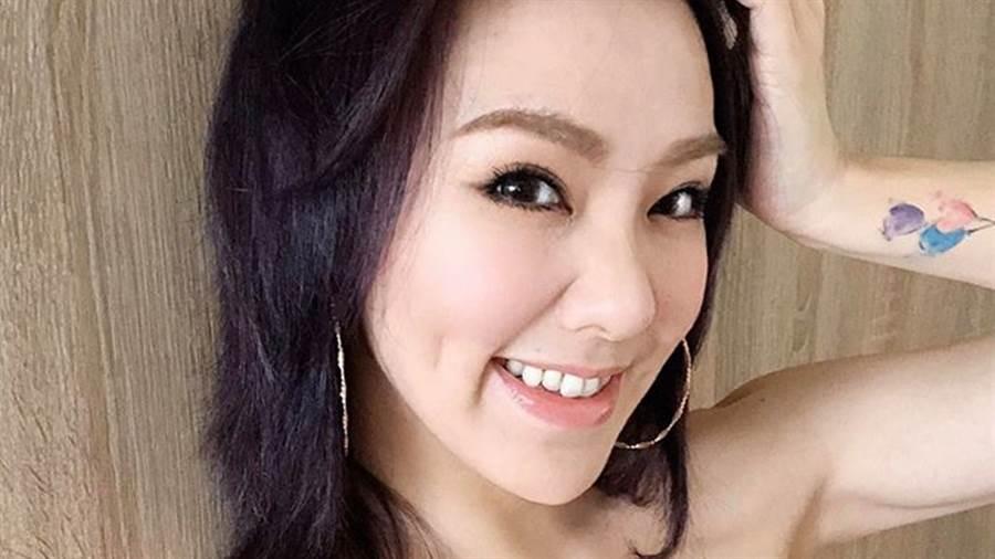 劉雨柔臉蛋姣好、體態緊實健康。(圖/IG@劉雨柔)