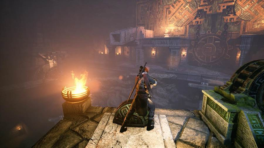 遊戲中有各式機關解謎待玩家破解(圖/SOFTSTAR大宇資訊提供)
