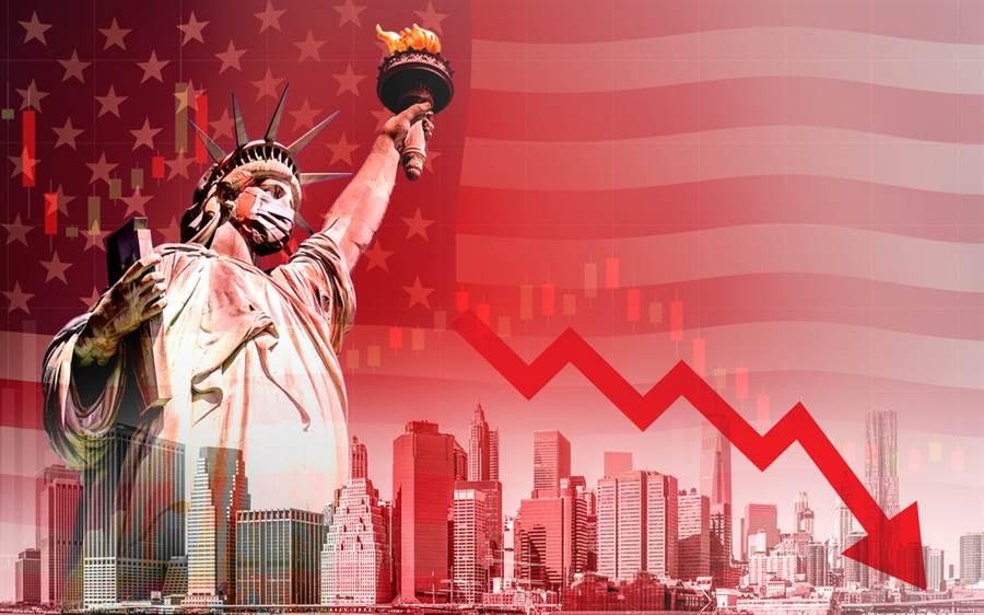 根據美國勞工局統計,美國成年人的5月就業人口比例下跌至52.8%,也就是有47.2%接近半數的美國成年人仍未就業。(示意圖/達志影像)