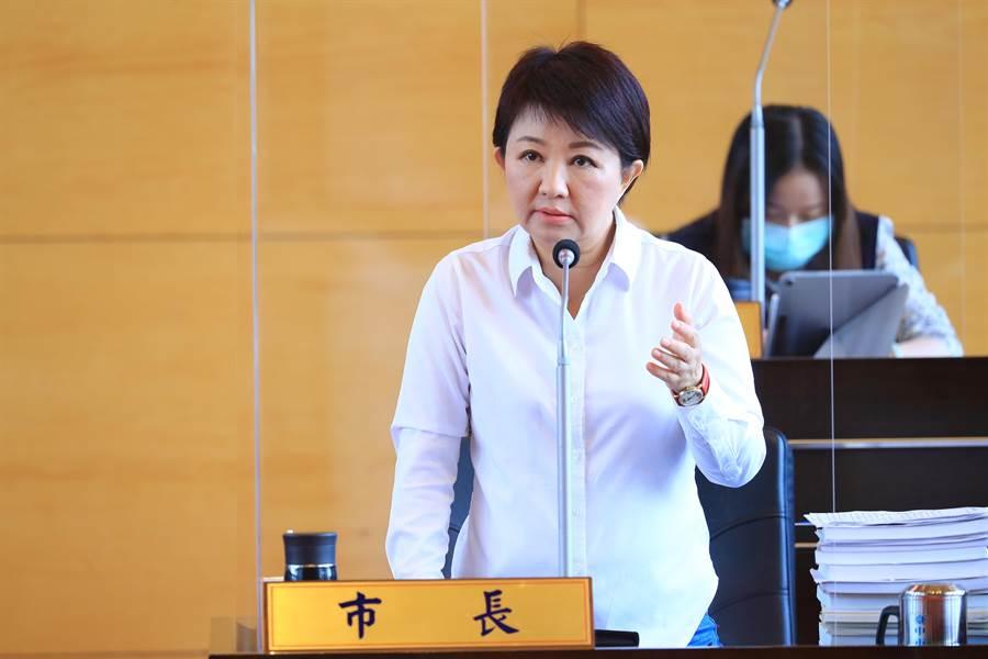 市長盧秀燕說,待取得多數人共識後,將針對公車政策配套方案進行調整。(陳世宗攝)