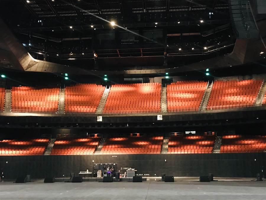 北流將在9月5日正式開幕,售票半價,詳細的藝人或團體及售票時間、價格、票數會在7月底記者會宣布。(張穎齊攝)