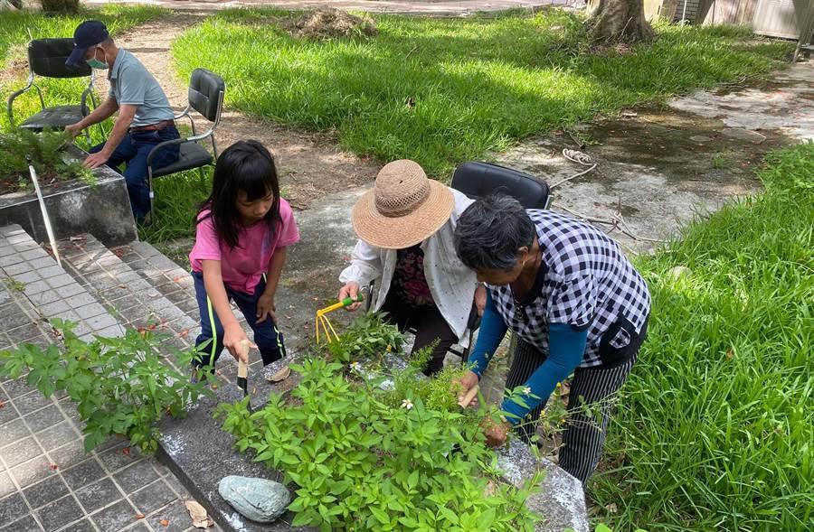 東基一粒麥子打造老幼共學、共玩的園區,池上有福館昨天落成啟用。(東基提供/莊哲權台東傳真)