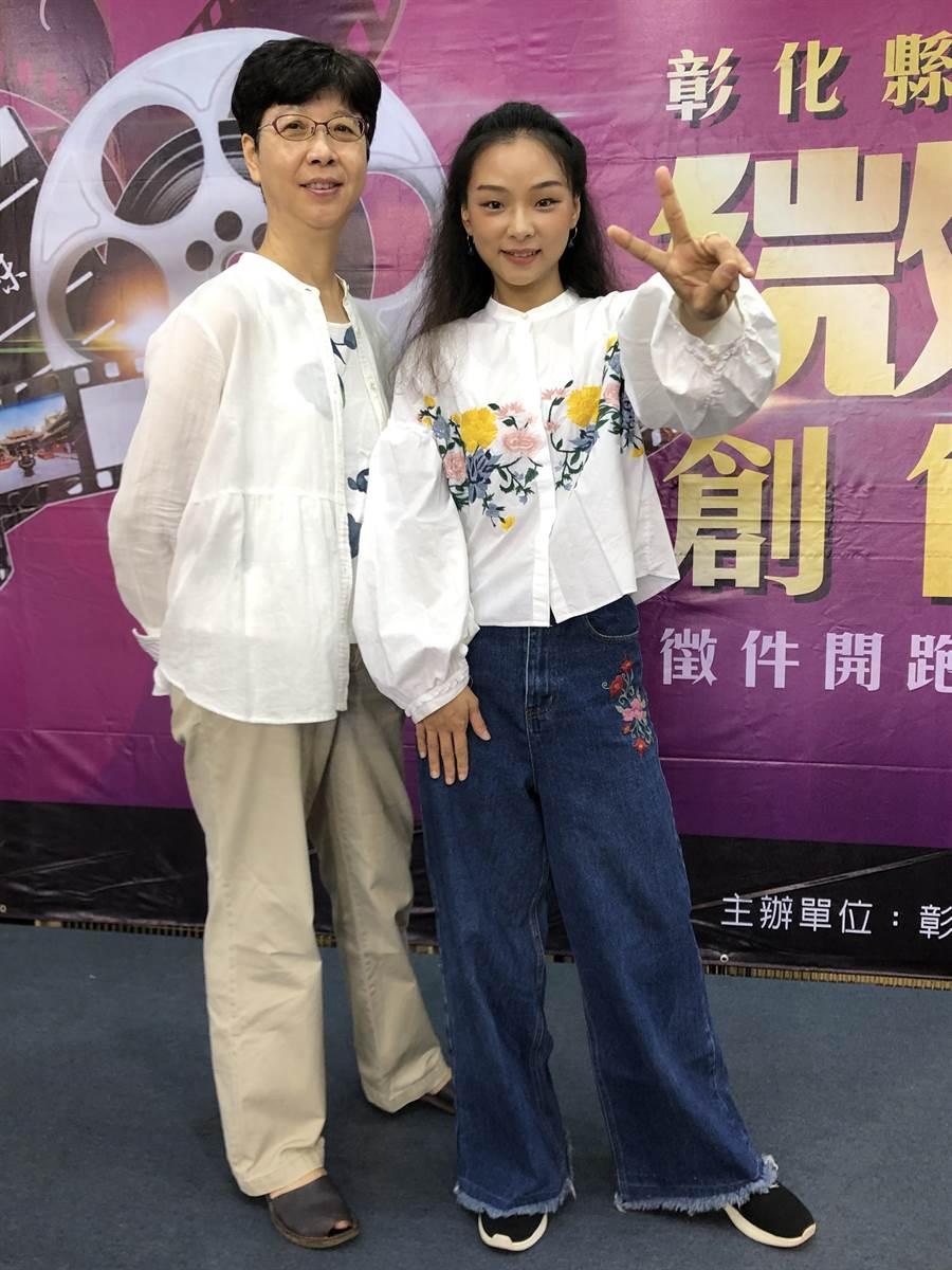 郭珍弟(左起)跟余佩真合作電影《戀愛好好說》。(姚經玉提供)