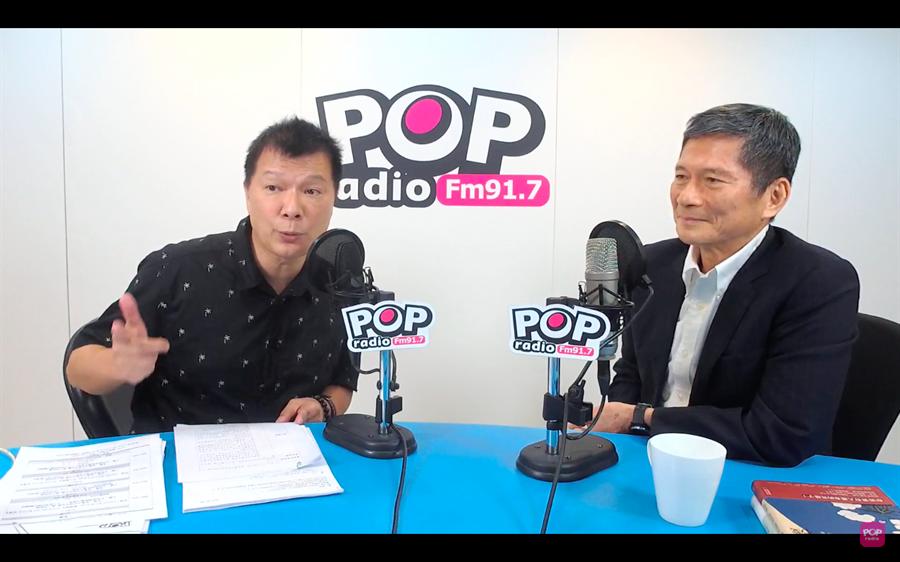 文化部長李永得30日在作家蔡詩萍節目「Pop大國民」專訪時表示,中正紀念堂轉型問題在他看起來沒有那麼急迫,還需要一點時間。(擷取自網路)
