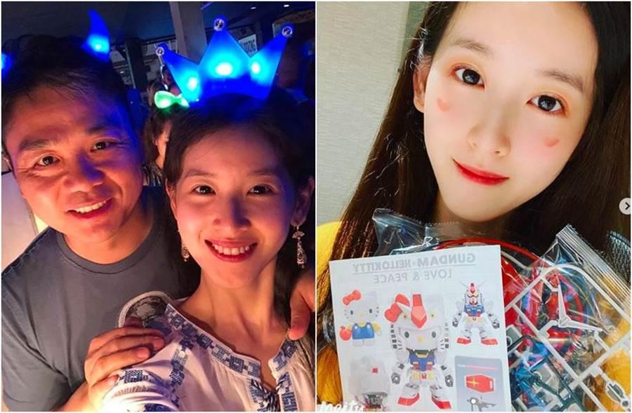 劉強東涉性侵後,和奶茶妹常傳婚變。(圖/翻攝自IG)