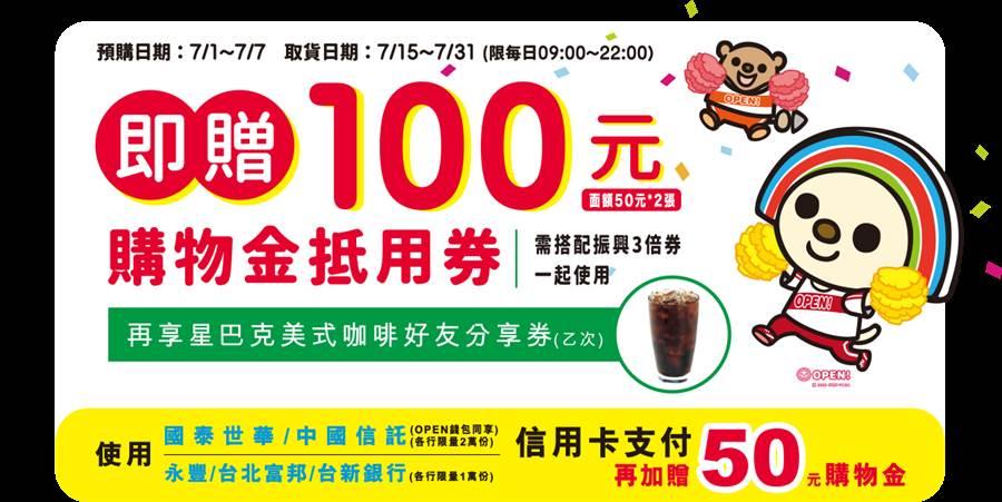 至7-11門市完成預購即可享「星巴克美式咖啡好友分享券」1張。(摘自7-11官網)