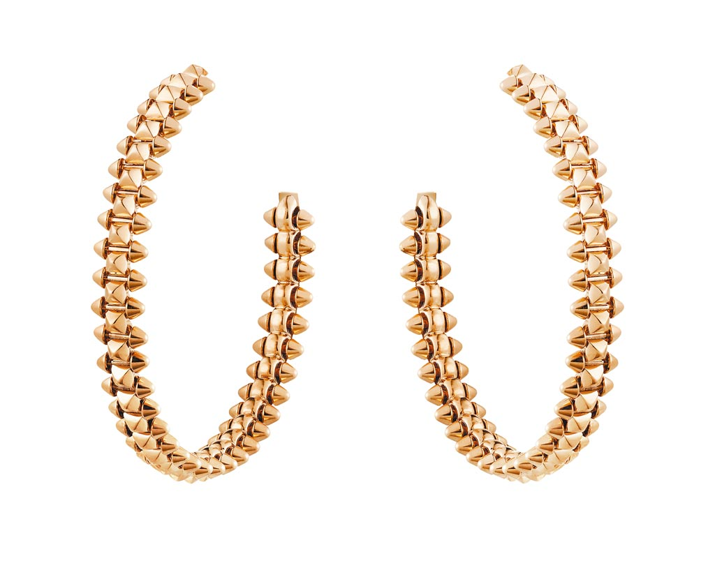 卡地亞Clash de Cartier耳環,23萬元。(Cartier提供)