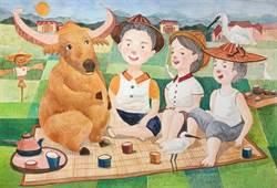 高雄翰品酒店展出「舊時代的美好」插畫展
