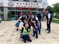 國民女友祈錦鈅 代言新北警反毒宣導