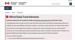 香港國安法通過 加拿大、英國更改旅遊建議為「高度謹慎」