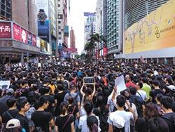 今日香港撼動明日台灣
