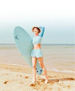防磨衣搶攻海灘 韓星引領風潮