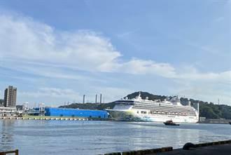 「探索夢號」郵輪再現基隆港,港務公司嚴陣以待