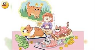 毛小孩經濟1/表面家庭主婦 她「靠貓賺錢」收入不輸上班族