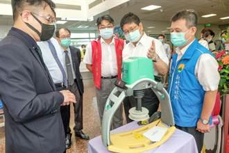 自動電動CPR台大竹東分院急診利器