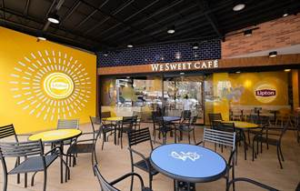 全聯We Sweet Cafe咖啡店x立頓主題快閃 網美打卡新景點