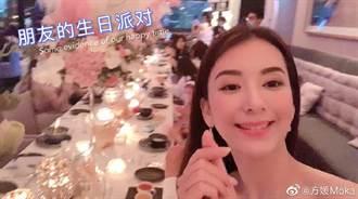 吴佩慈贵妇派对同框郭富城嫩妻 一张照让网友惊呼:她输了