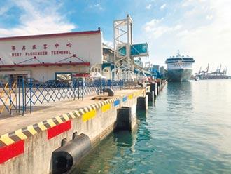 全球首艘復航邮轮探索梦号 靠港