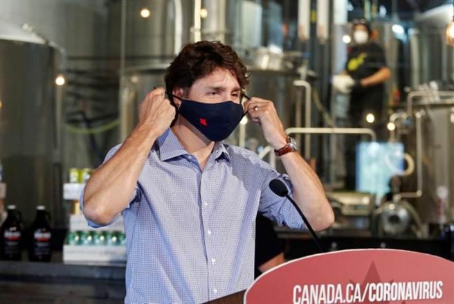 加拿大新冠肺炎防疫有成,圖為總理杜魯道。(路透)