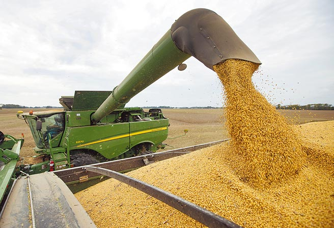 大陸國關學者認為,直接制裁在港美企的可能性不大,比較可行的做法應是暫緩購買美農產品。(美聯社)