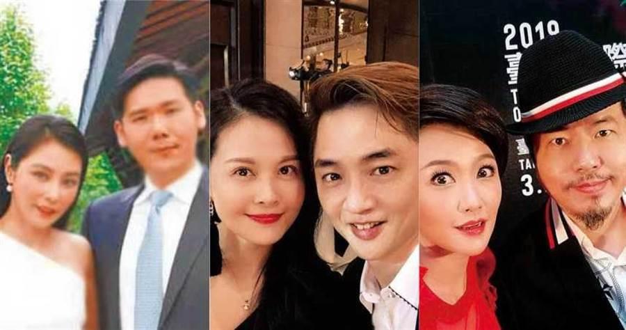 (左)陳怡蓉、薛博仁(中)陳維齡、宋逸民(右)寇乃馨、黃國倫。(圖/翻攝自網路)