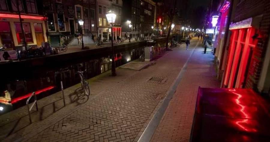 阿姆斯特丹紅燈區從7月1日重新營業。(圖/美聯社)